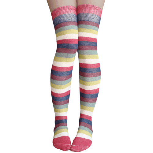 vineyard striped socks