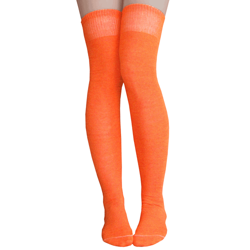 orange thigh highs made in america