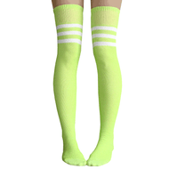 lime green thigh highs