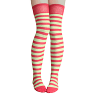 e5a387f08 pomegranate and apple striped thigh highs