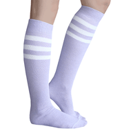 Lilac Tube Socks