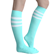 Mint Green Tube Socks
