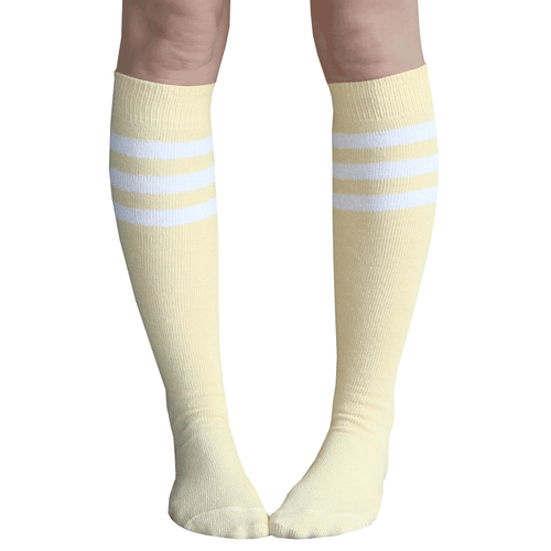 Dandelion Striped Tube Socks