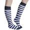 Light Purple and Black Knee Socks