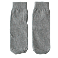 gray kids socks