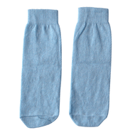 light blue kids socks