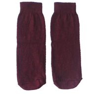 maroon kids socks