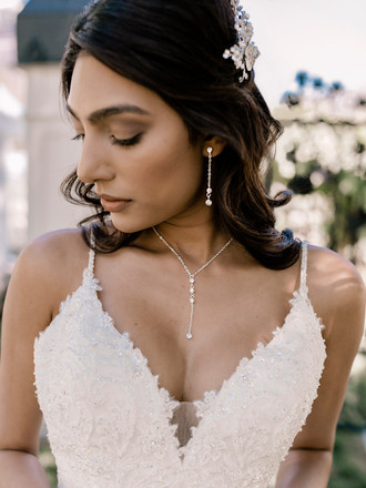 Bridal Necklace Set | NL2054