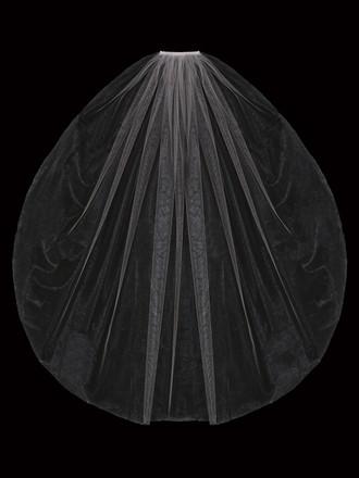 Single Tier Bridal Veil | V2085SF