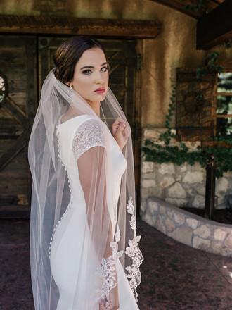 Waltz Bridal Veil | V2094WZ