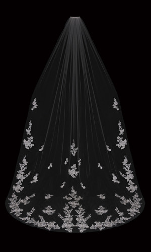 Cathedral Bridal Veil | V2095C