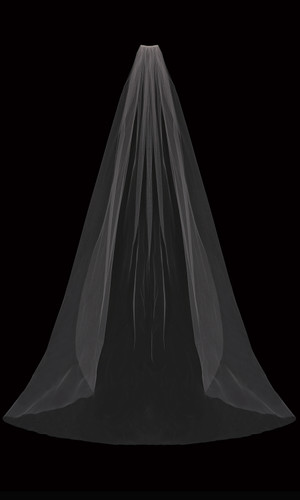 Wide Cathedral Bridal Veil | V03WC
