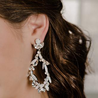 Rhinestone Earrings | E2163