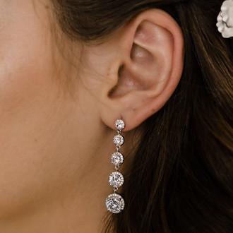 Rhinestone Earrings   E2167