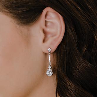 Rhinestone Earrings | E2169