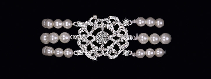 Pearl Bead Bridal Bracelet