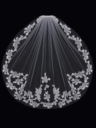 Bridal Single Tier Bridal Veil