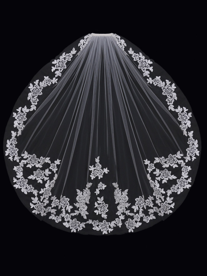 Bridal Single Tier Bridal Veil