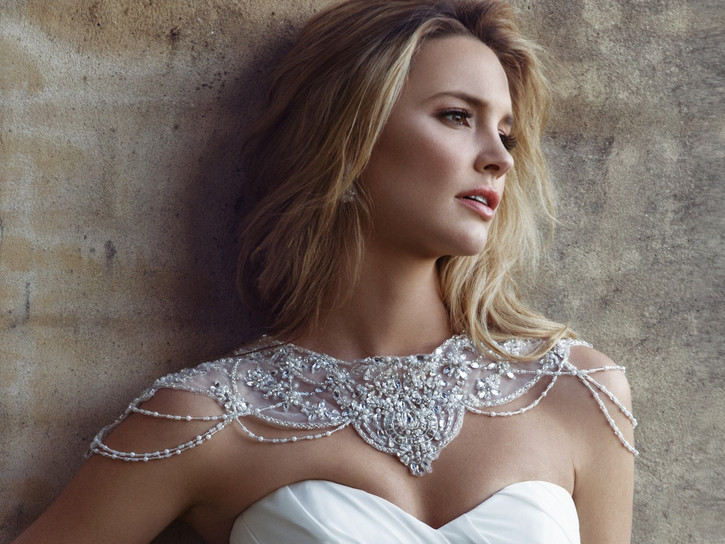 Bridal Beaded Jacket