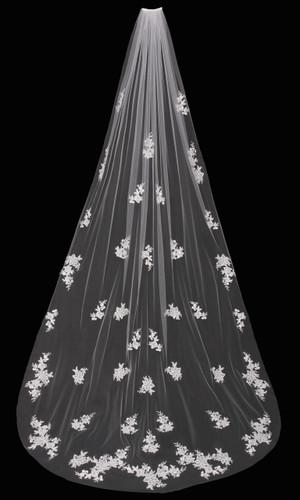 Cathedral Bridal Veil | V1695C