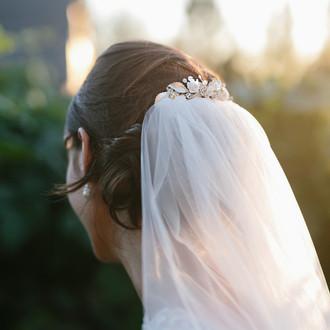 Bridal Veil Comb | VC1778