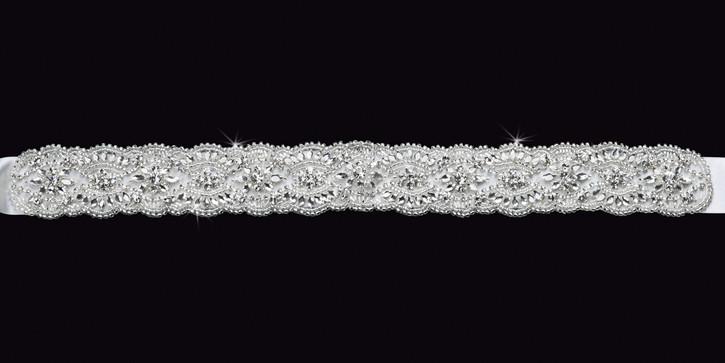 Satin Ribbon Wedding Belt