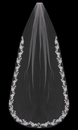 Cathedral Bridal Veil   V1897C