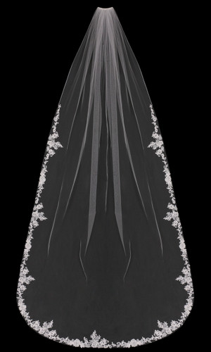 Cathedral Bridal Veil | V1899C