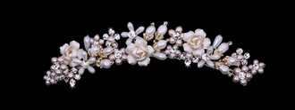 Bridal Tiara Comb | TC1907