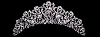 Bridal Tiara Comb | TC1909