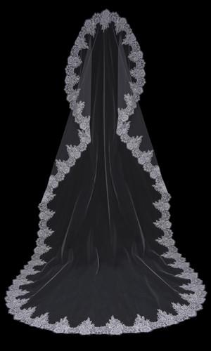 Mantilla Bridal Veil | V1999C-M