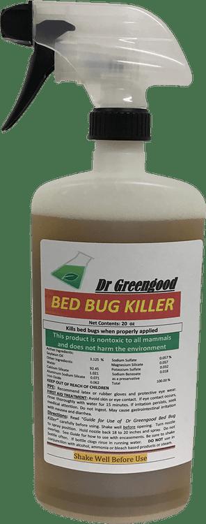 Dr Greengood Bed Bug Killer- 20 oz Ready to Use Bottle