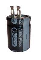Generac / Coleman Powermate 34819.01 Capacitor 130UF 200V.HD 85 C - Upgraded Capacitor
