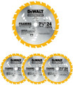"DeWALT 7-1/4"" Framing Saw Blade - DW3578"