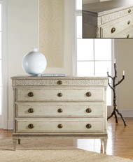 Large Gustavian Four Drawer Commode