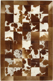 Natural Brown Cow Hide Rug