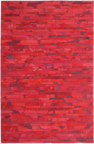 Red Cow Hide Rug