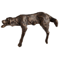 Lazy Dog Sculpture