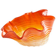 Orange Teacup Party Bowl