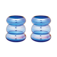 Cobalt Ring Vase - Set Of 2