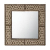 Canvas Wire Mirror
