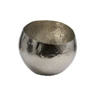 Hammered Plated Brass Bowl