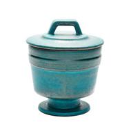Metallic Patina Vase