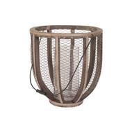 Wire Atlas Hurricane Vase