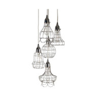 Wire Five Pendant Lamp