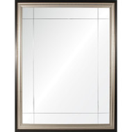 Platinum & Ebony Nine Panel Mirror