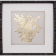 Mini Gold Leaf Coral I