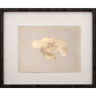 Gold Leaf Turtle - Left Facing on Archival Paper