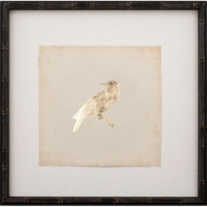 Gold Leaf Bird on Archival Paper