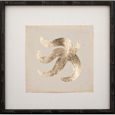 Gold Leaf Starfish II